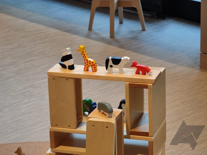 Toys at the Google Store