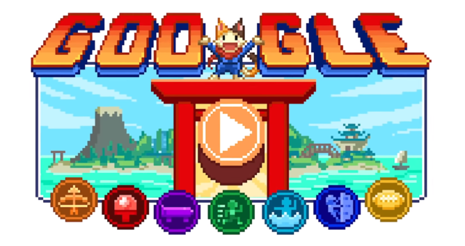 Google's latest Doodle is an ambitious (but pretty easy) RPG you can easily waste an hour on - Android Police