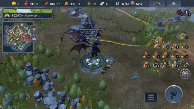 Northgard mobile multiplayer update
