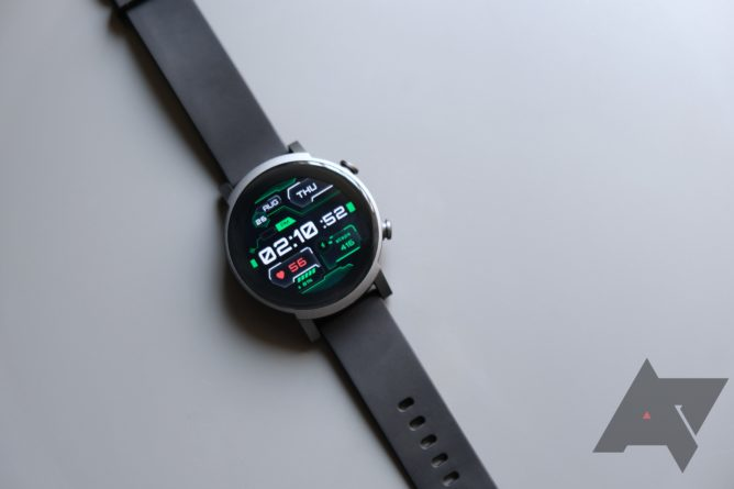 TicWatch E3 review grey