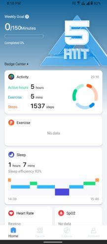 TicWatch E3 Mobvoi app1