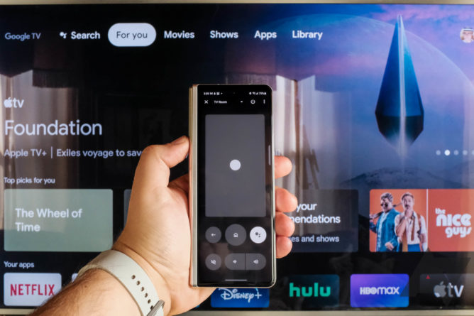 Android TV new remote