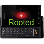Motorola Droid 2.1 rooted