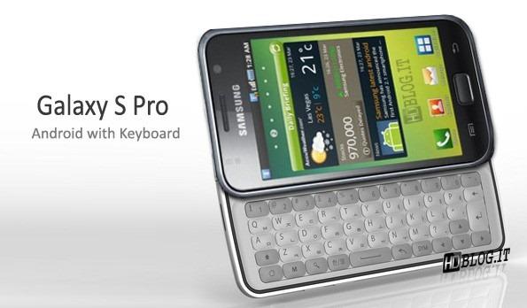 Galaxy S Pro keyboard