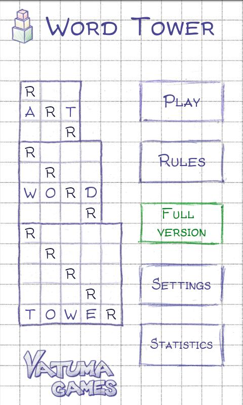 Word Tower Lite (Playboard) | Word Tower Lite (Play Store)