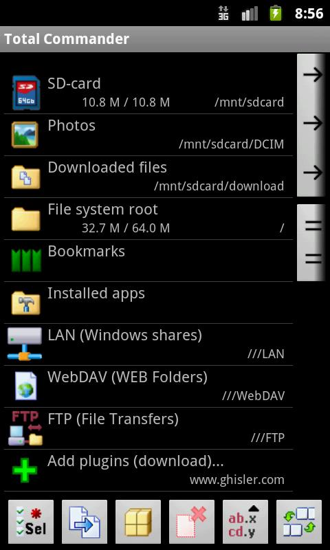 Total Commander For Android v1 0 And All Its Plugins Finally
