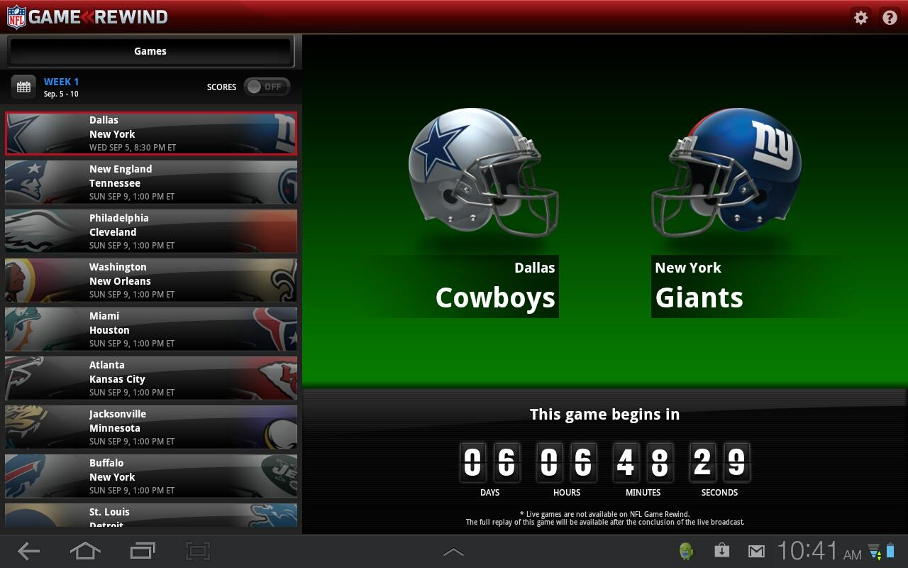 go ag nfl android games
