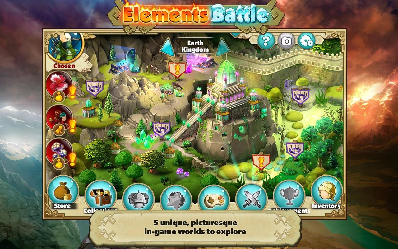 Elements Battle - лишь избранному подвластны силы четырех стихий огня