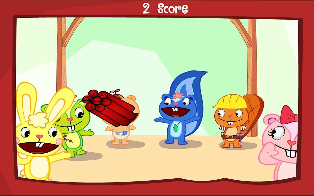 happy tree friends games