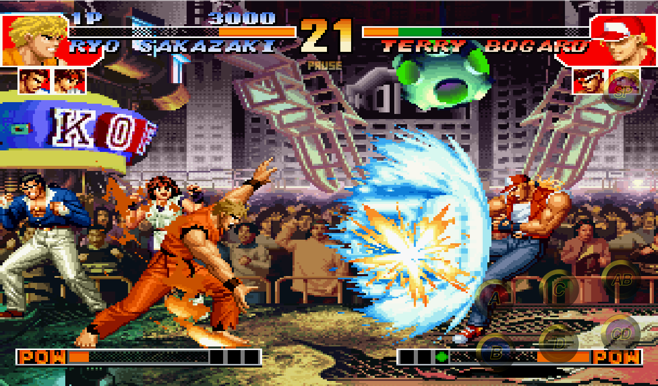 The king of fighters 98 для android