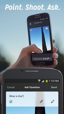 Point Shoot Ask App
