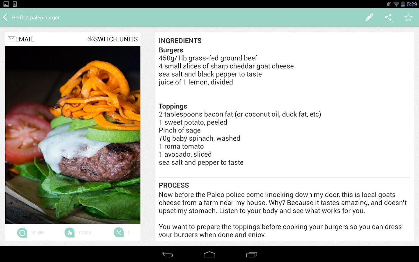12 Delicious Recipe Apps For Android Tablets