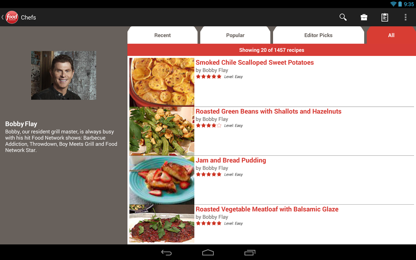 12 delicious recipe apps for android tablets food network in the kitchen forumfinder Gallery