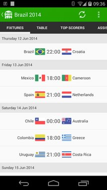 watch the world cup on my android