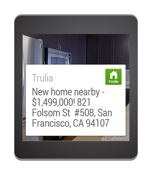 Trulia Real Estate Listings Homes For Sale Housing Data: 28 Best New Android Wear Apps And Watch Faces From 7/22/14