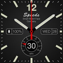 speed watch face