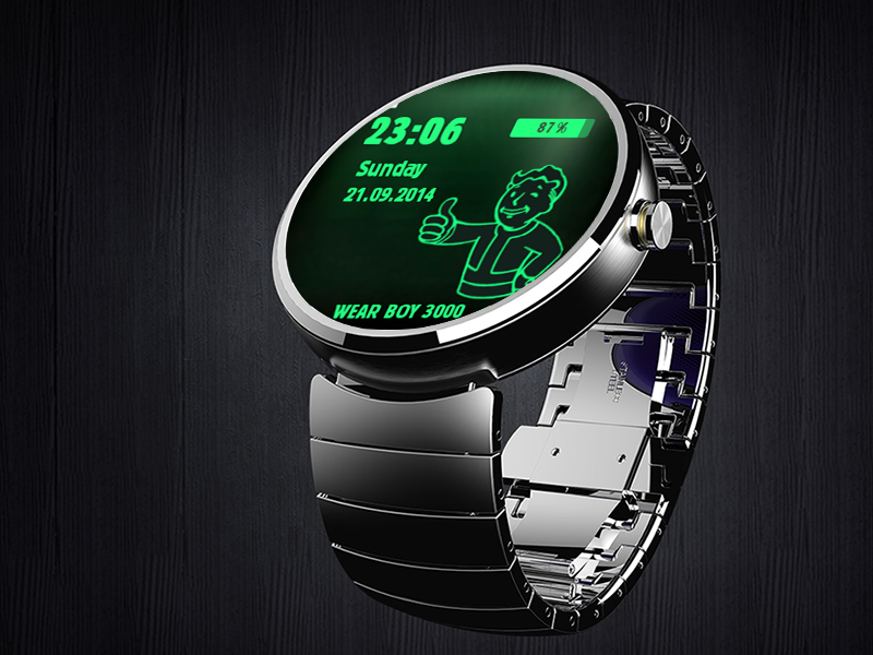Watch FacesPebble Watch Faces Fallout
