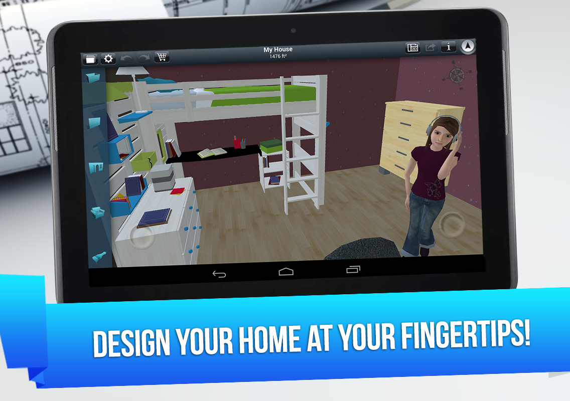 If You Fall Somewhere Between The Second And Third Category, Youu0027ll Be  Happy To Know That IOS Famous Home Design 3D Is Now Available On Android.