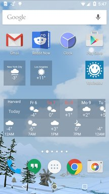 10 Cool Android Weather Apps With Hot Material Design, Clear