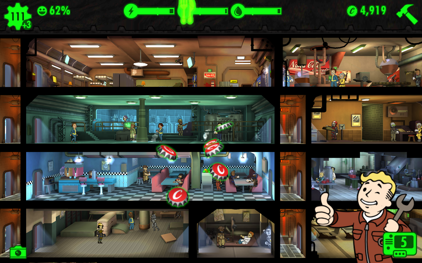 fallout shelter how to turn away dwellers