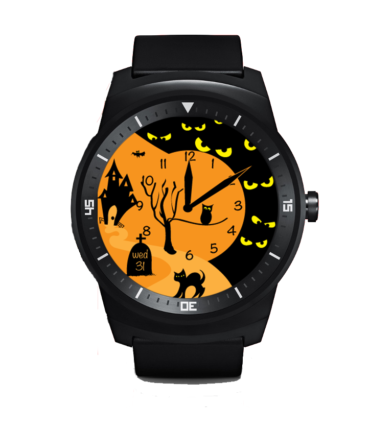 5 Android Wear Watch Faces To Make Your Wrist More Spooky ...
