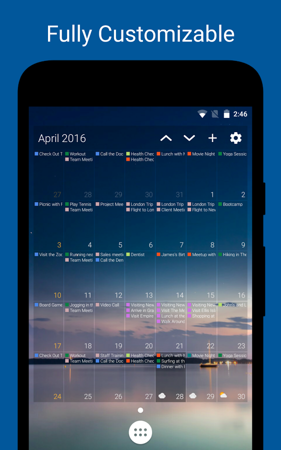 Calendar Wallpaper Android : New and notable android apps live wallpapers from