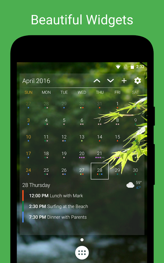 Live Calendar Wallpaper : New and notable android apps live wallpapers from