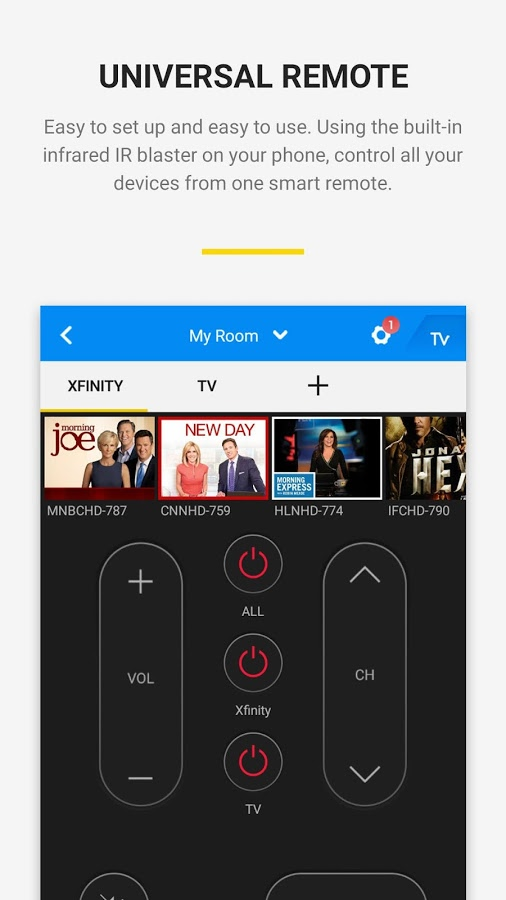 Peel Mi Remote brings TV guide capabilities to the Mi Remote