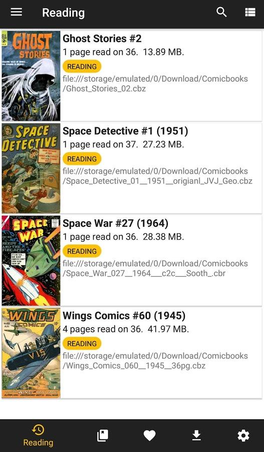 Whoosh! Bam! Kapow! CDisplayEx Comic Reader (CBR, CBZ, PDF