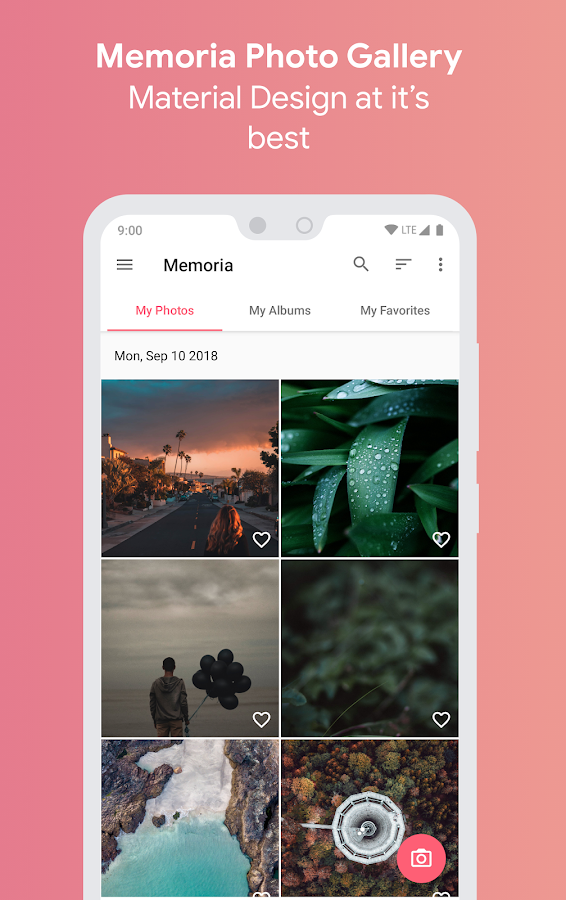 Memoria is a new, gorgeous, and smooth photo gallery app